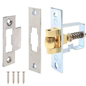 Roller Spring Loaded mortice Nickel catch latch