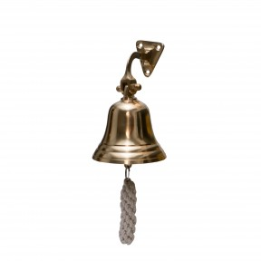"""6"""" Ships Bell Polished Brass"""