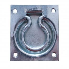 Trap Door Ring Pull Handle Zinc