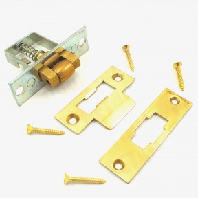 Roller Spring Loaded mortice Brass catch latch