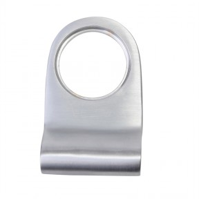 Plain Door Cylinder Pull Satin Chrome