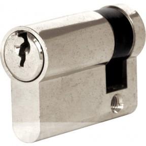 6 Pin Euro Cylinder Lock 45mm Silver