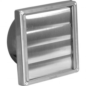 """4"""" Stainless Steel Wall Outlet Gravity Flap"""