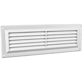 "9"" x 3"" Louvre Air Vent White"