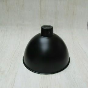 """Retro Light shade 8"""" Dome Black"""