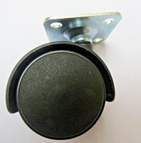 Furniture Swivel Wheel Back plate fix