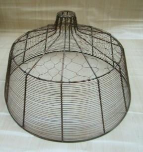 "20"" Large Bell Chicken light shade"