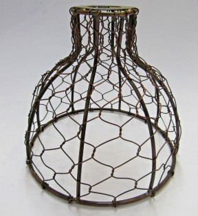 Bell Chicken Wire Light Shade