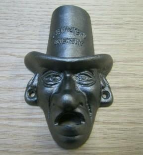 Scrooge Cast Iron Bottle Opener