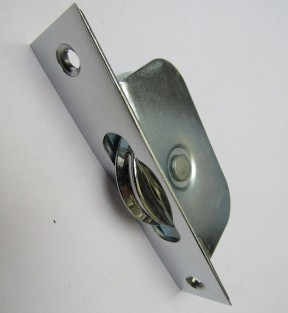 Axle Roller sash Window Pulley Polished Chrome