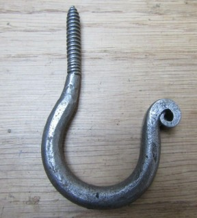 Screw in Ceiling Hook antique iron