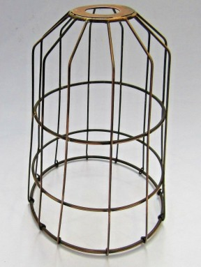 Conical Cage Light Shade
