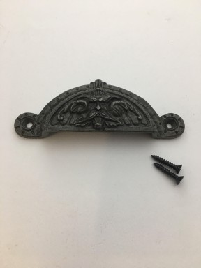Greenman Cup Pull Antique Iron