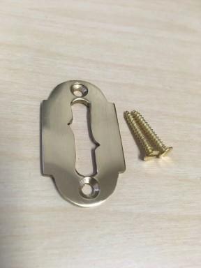 Davenport Rim Lock Escutcheon