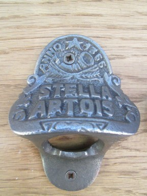 Cast Iron Stella Artois Bottle Opener