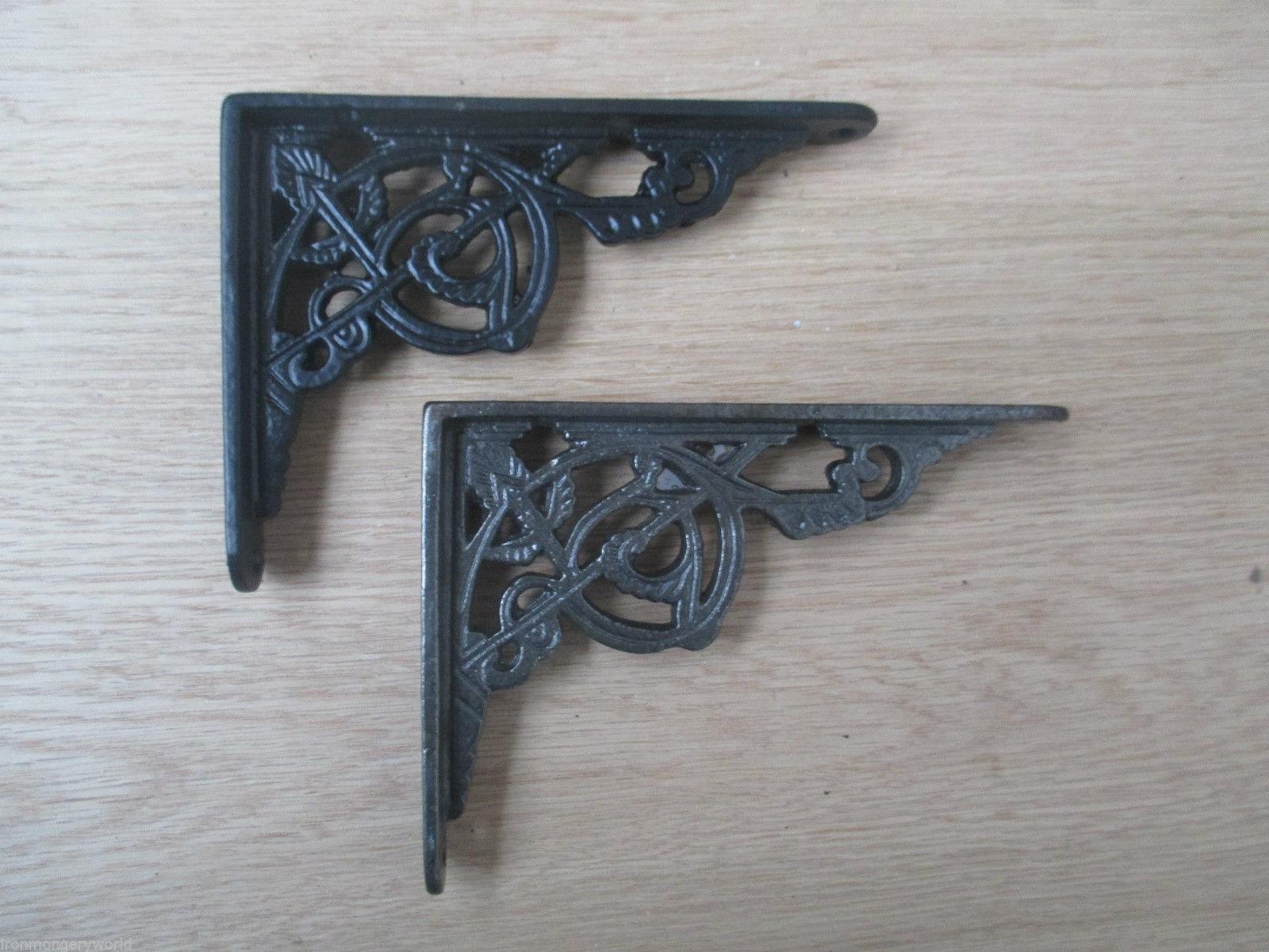 1 X Decorative Trellis Ornate Victorian Cast Iron Book