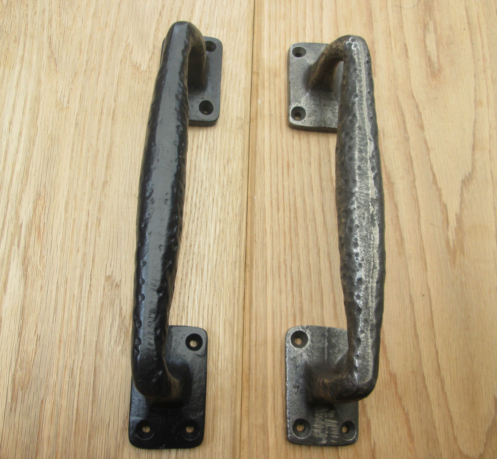 Attrayant Cast Iron Vintage Fancy Pull Handles