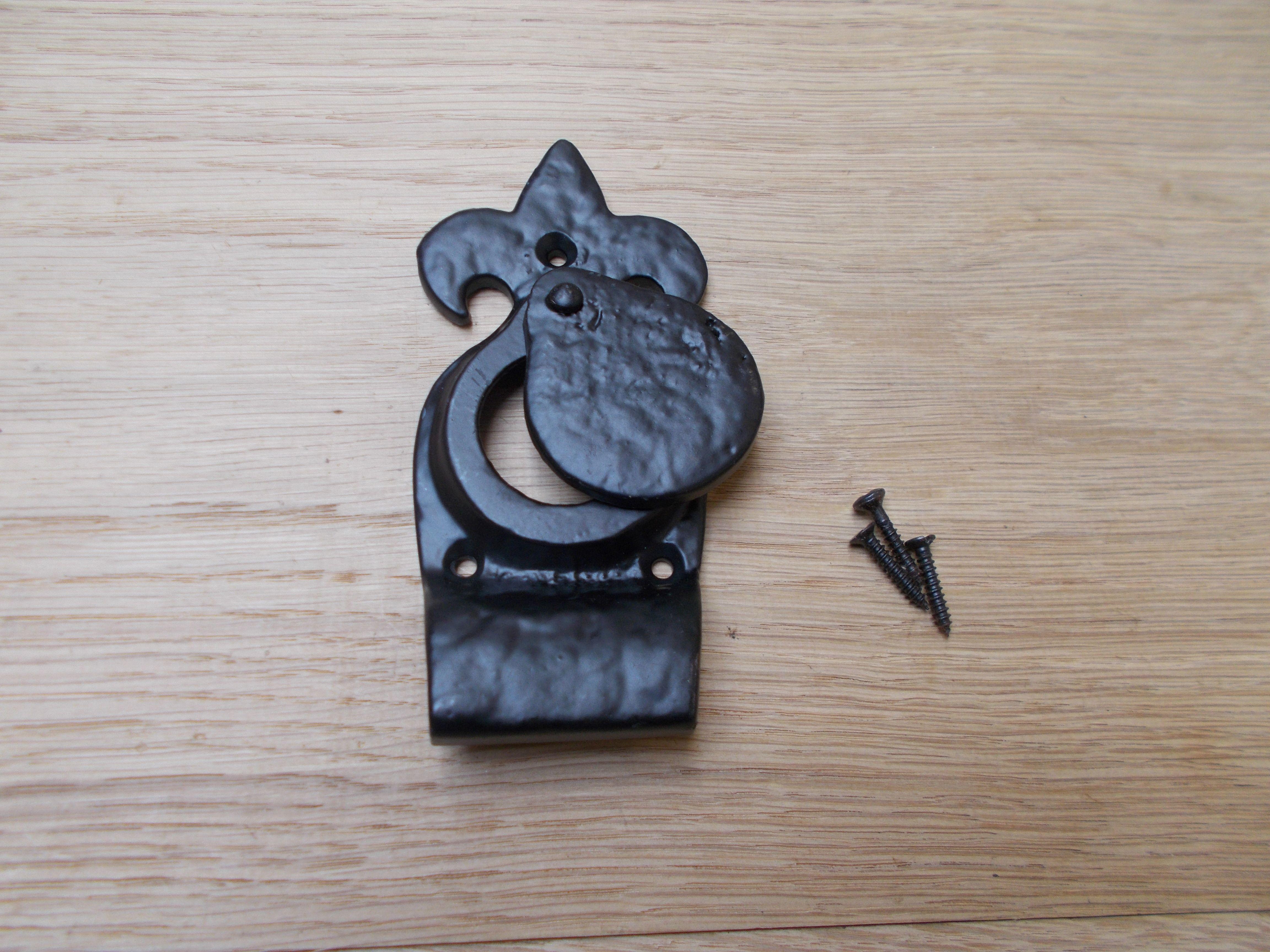 75mm Black Antique Cylinder Pull