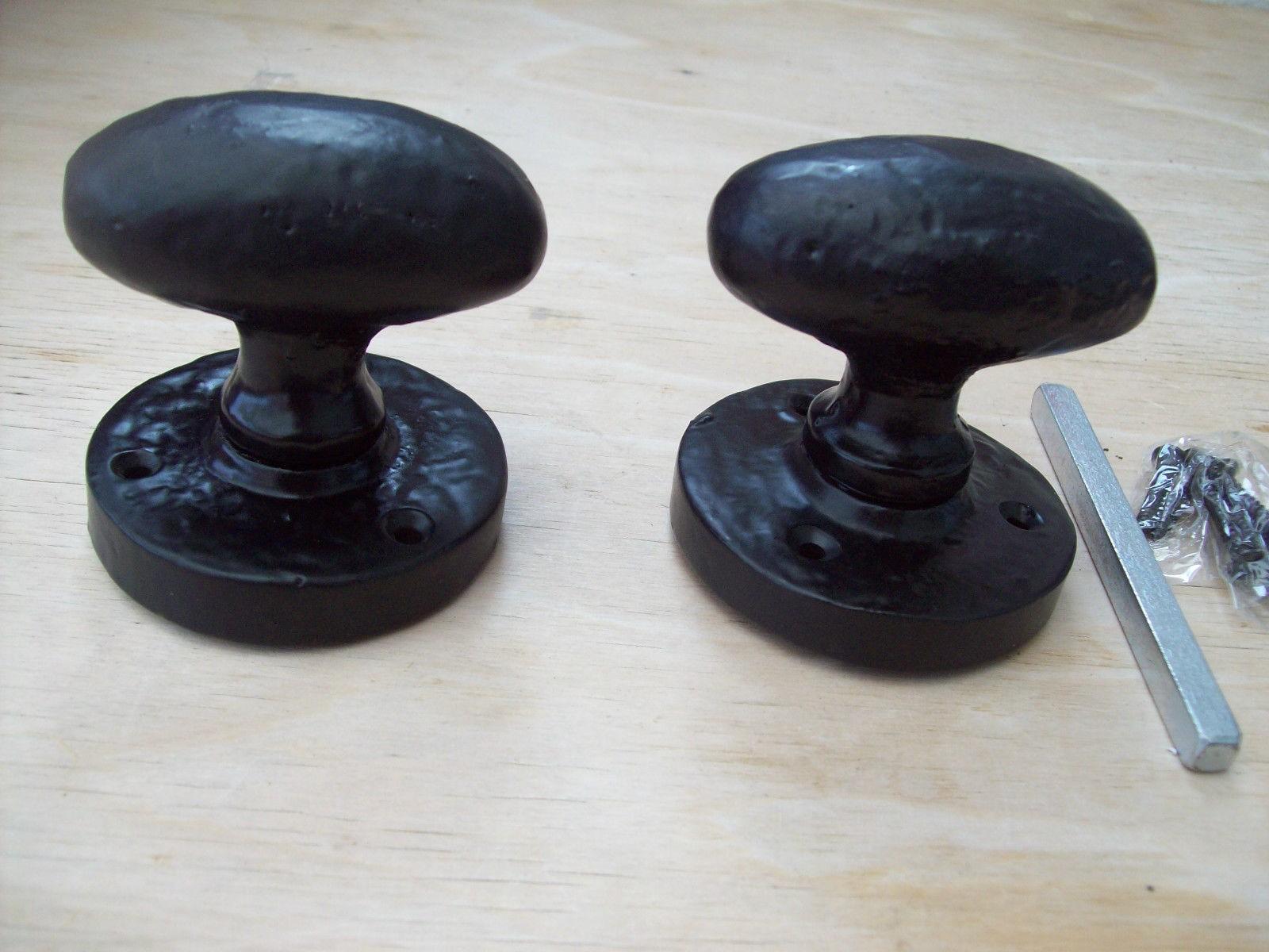 Heavy Duty Oval Sprung Door Knobs Ironmongery World