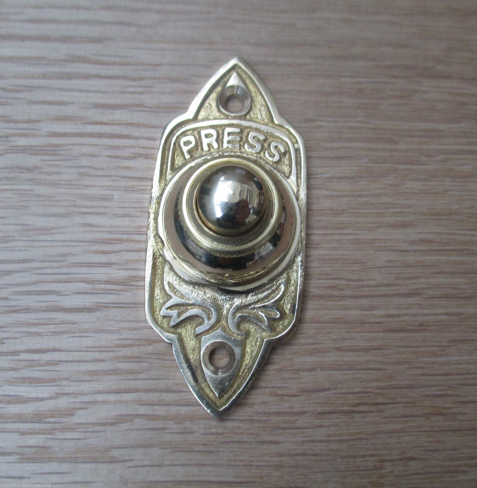 Edwardian Door Bell Amp Decorative Victorian Style Brass