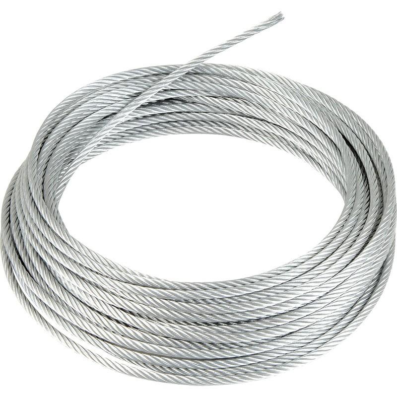 Galvanised Wire Rope 4mm X 10m Ironmongery World