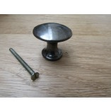 Round kettle cabinet knob antique iron