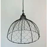 360mm Bell Chicken Wire Light Shade