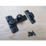 Cast iron Bathroom latch Black Antique