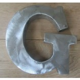 "8"" Large Rustic Steel Letter G"