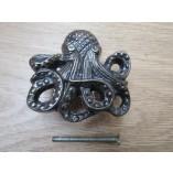 Octopus Cabinet Knob antique iron