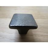 Plain Square Shaker Cupboard Knob antique iron