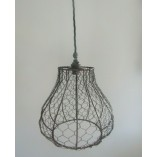 8'' Chicken Wire Tear Drop Light Shade