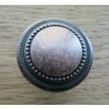 32mm Walton Round Cabinet Knob Antique Copper