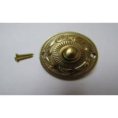 Rococo Round Vintage Door Bell