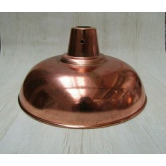 "Retro Light shade 14"" Pool Table Polished Copper"