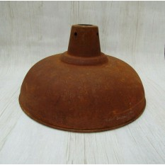 "Retro Light shade 11"" Pool Table Rust"