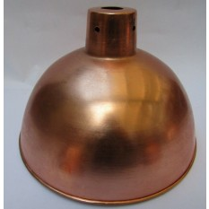 "Retro Light shade 10"" Dome Polished Copper"