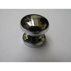 Round Cabinet Knob Polished Chrome