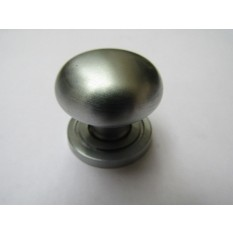 Round Cabinet Knob Satin Chrome