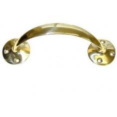 Solid Brass Off-Set Door Handles