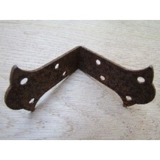 Pack of 2 Butterfly Corner Brace rust