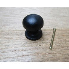 Burlington Cabinet Knob Black