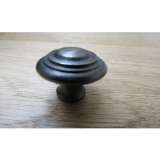 Roman Knob Antique Iron 30mm