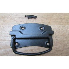 Traditional Steel Chest Handle Black Antique