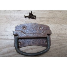 Traditional Steel Chest Handle Rust