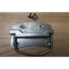 Traditional Steel Chest Handle Antique Iron