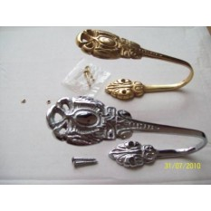 Period Style Curtain Tie Back Hooks