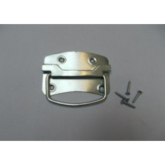 Traditional Steel Chest Handle Zinc