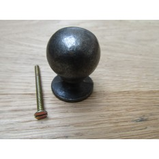 30MM Ball Cabinet Knob antique iron
