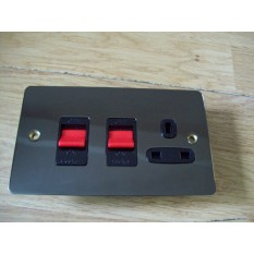 45A DOUBLE POLE  COOKER CONTROL UNIT 13A